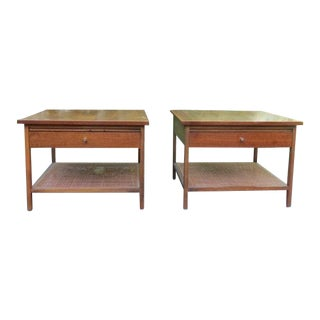 1960s Mid Century Modern Paul McCobb for Lane Side Tables - a Pair For Sale