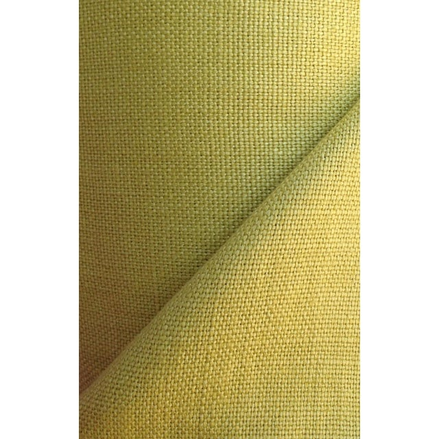 Kravet Couture Green Linen Fabric - 10 Yards - Image 1 of 2