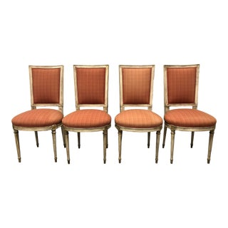Louis Style Side Chairs - Set of 4 For Sale