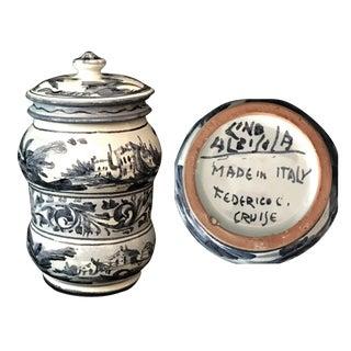 Frederico C. Cruise Italian Ceramic Pot