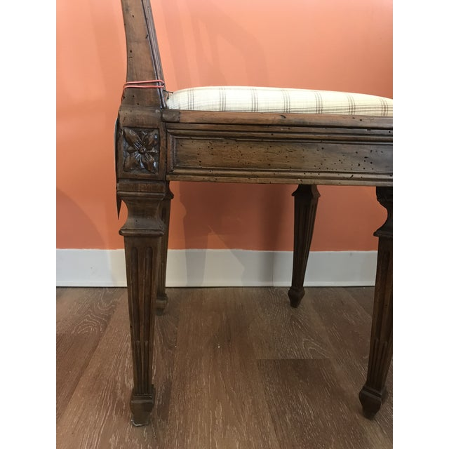 Wood 19th Century Walnut Side Chairs - a Pair For Sale - Image 7 of 12
