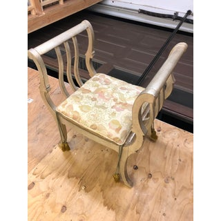 1950s Vintage Curule Bench Preview