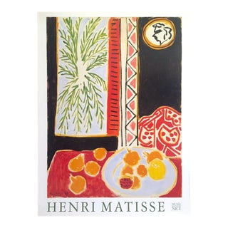 """Henri Matisse Vintage Lithograph Print Musee Matisse Nice Poster """" Still Life With Pomegranates """" 1947 For Sale"""