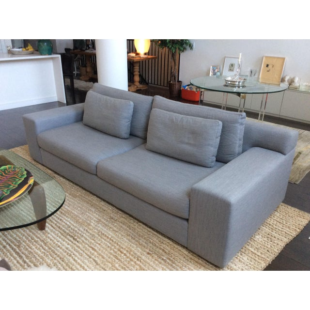 Textile Design Within Reach Contemporary Sofa For Sale - Image 7 of 7