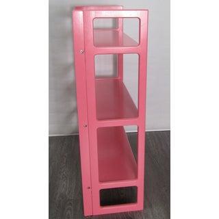 Vintage Pink Folding Bookshelf Preview