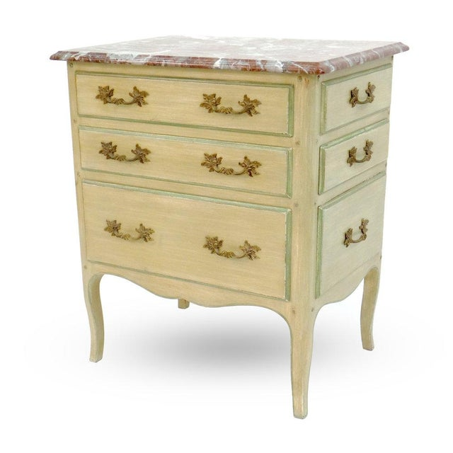 """Not Yet Made - Made To Order """"All-Drawer"""" Louis XV Style Table For Sale - Image 5 of 5"""