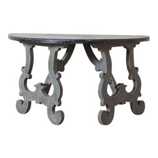 Baroque Demilune Table For Sale