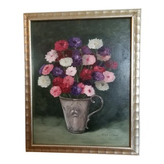 Early 21st Century Floral Still Life Painting For Sale