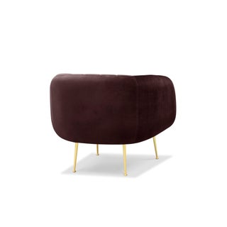 Channeled Side Chair in Plum Purple Preview