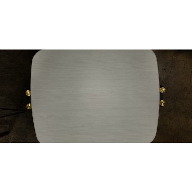 2010s Mid-Century Modern West Elm Tray Table For Sale - Image 5 of 6