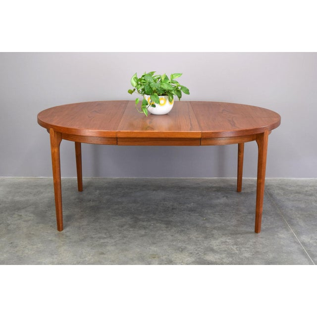 Heltborg Møbler Danish Teak Expandable Dining Table - Image 5 of 11