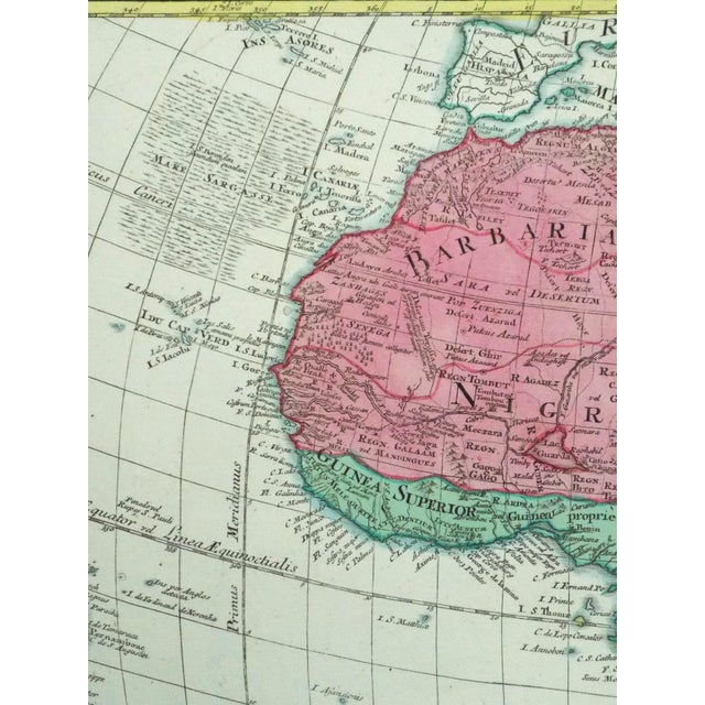 1778 Africa Map by Lotter For Sale - Image 6 of 10