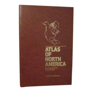 """Atlas of North America, Space Age Portrait of a Continent"" Book"