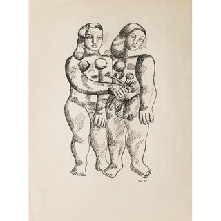 1948 Fernand Léger Original Period Parisian Photogravure For Sale