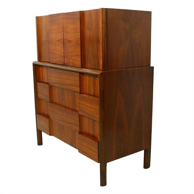 Swedish Modern Walnut Dresser by Edmund Spence - Image 1 of 10