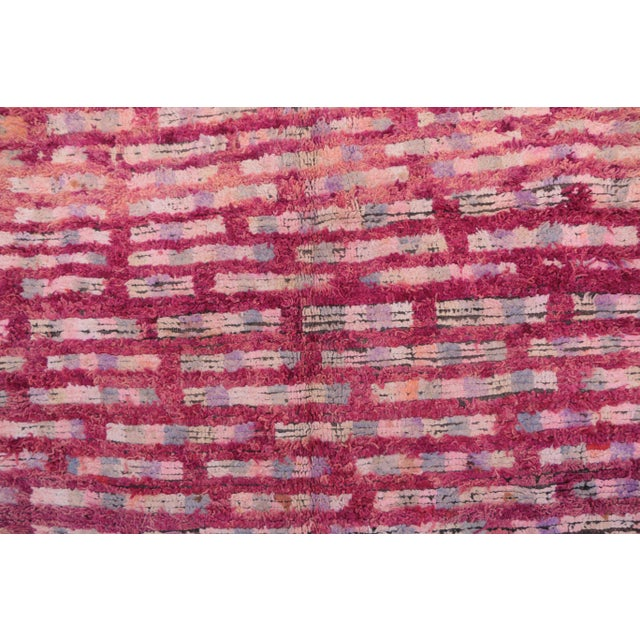 "Boujad Vintage Moroccan Rug, 5'10"" x 8'8"" feet / 177 x 263 cm - Image 2 of 6"
