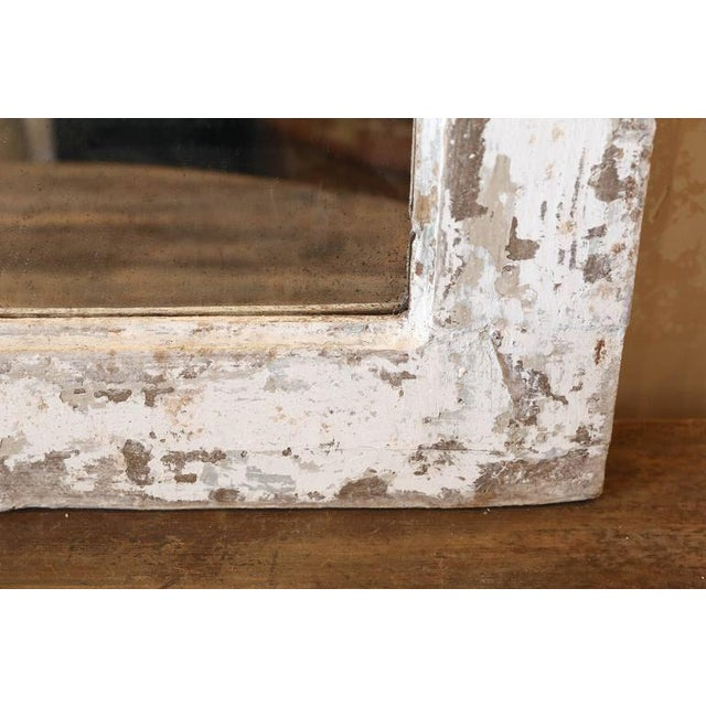 French Painted Trumeau Mirror For Sale - Image 3 of 7