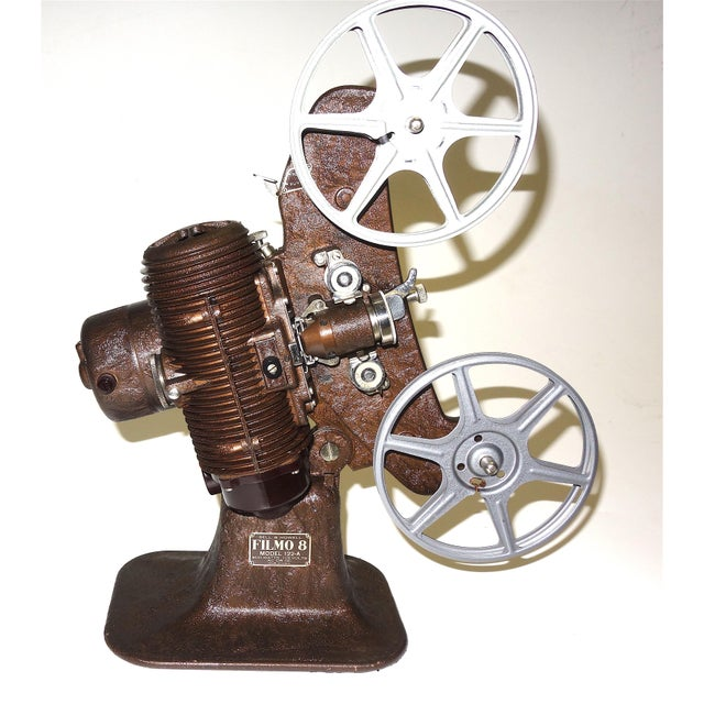1934 Bell & Howell Early 8mm Movie Projector For Sale - Image 4 of 4