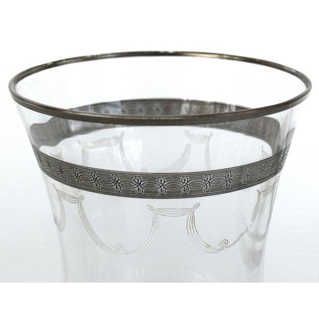 Art Deco 1930s-1940's Art Deco Stemware Glasses- Set of 28 For Sale - Image 3 of 10