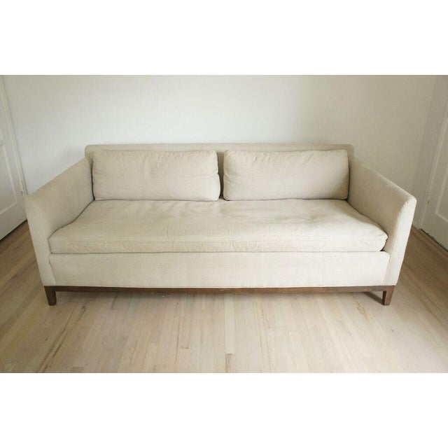 Cisco Home Flax Linen Sofa - Image 3 of 10