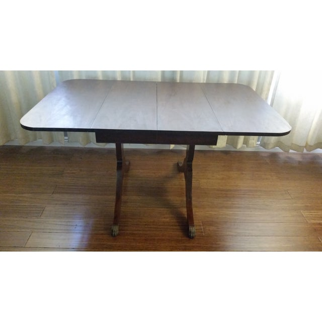 Duncan Phyfe Duncan Phyfe-Style Craddock Dining Set For Sale - Image 4 of 7