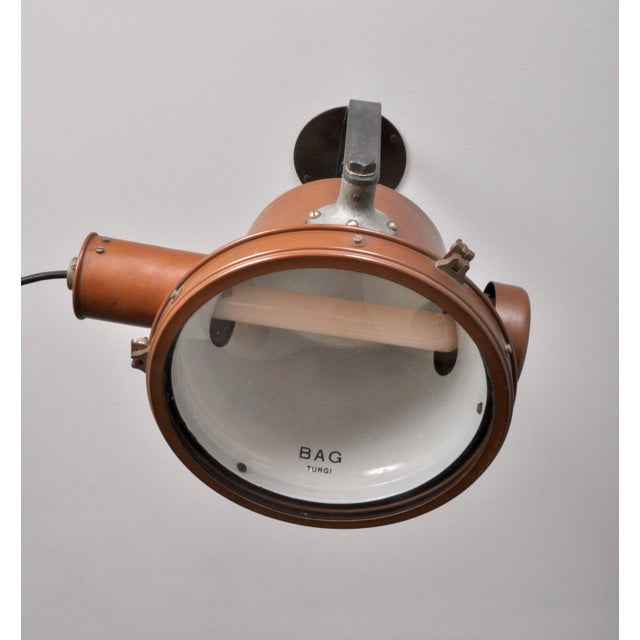 Bag Turgi Copper Lantern, Switzerland 1940s For Sale - Image 10 of 13