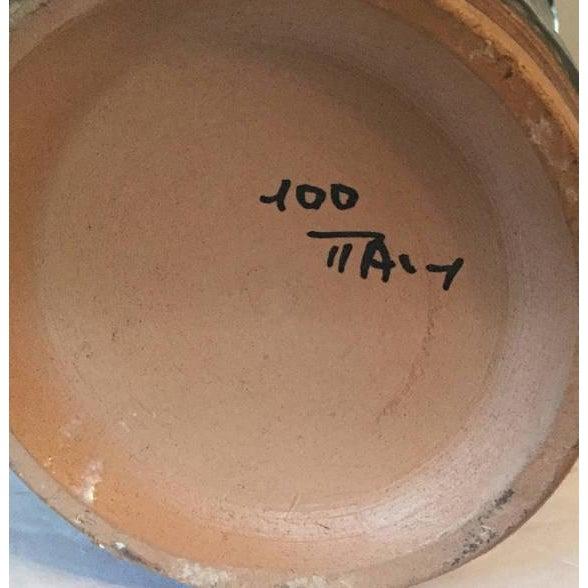 Modernist Fratelli Fanciullacci Mid-Century Ceramic Pitcher - Image 3 of 5