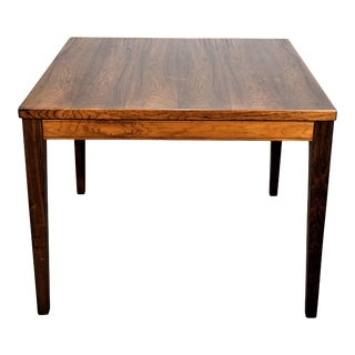 "Original Danish Mid Century Rosewood Side Table - ""Beztr"" For Sale"