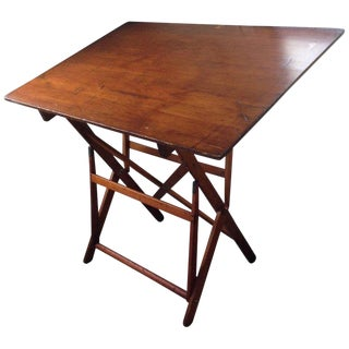 Drafting Table by Keuffel Esser, of Southern Plantation Pine, Circa 1900s For Sale