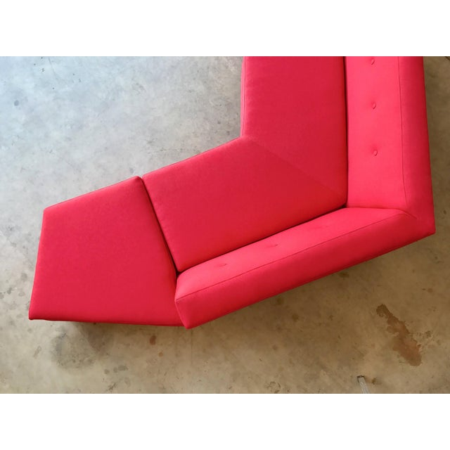 Harvey Probber Style Angular Sectional - Image 3 of 6