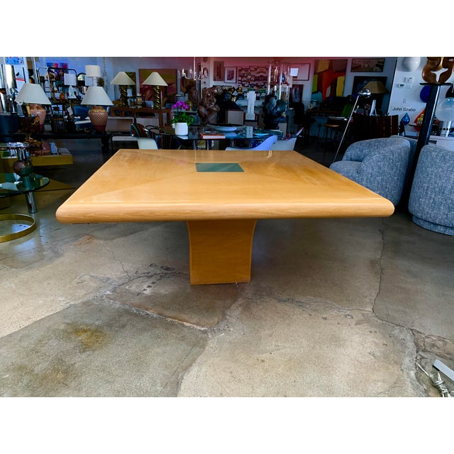 Steve Chase Arthur Elrod Custom Dining Table For Sale - Image 12 of 12