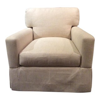 Lee Industries Swivel Chair For Sale