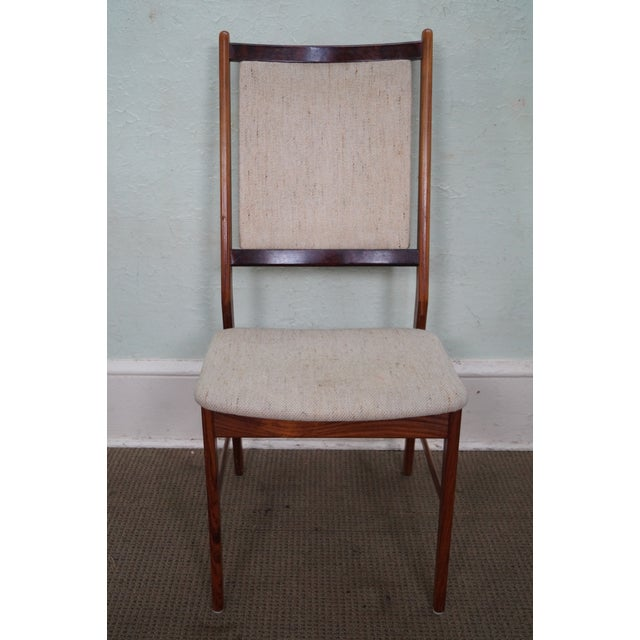 Danish Modern Rosewood Side Chairs - A Pair - Image 5 of 10