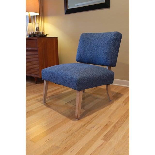 Vintage Mid-Century Modern Slipper Chair - Image 3 of 5