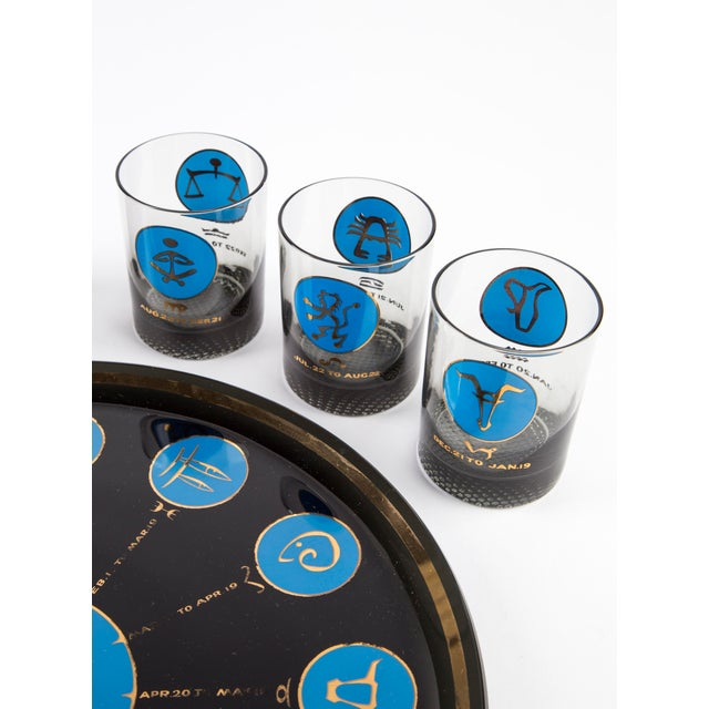 1960's Zodiac Barware Set For Sale - Image 4 of 10