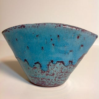 Mid-Century North State Pottery Turquoise Vase Preview