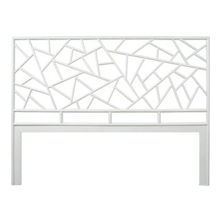 Tiffany Headboard King - White For Sale