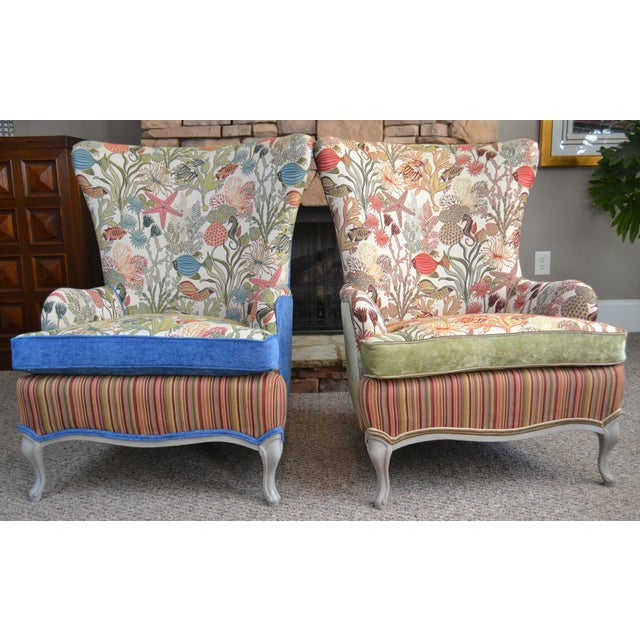 1950s Mid-Century Outer Banks Armchairs - A Pair For Sale - Image 5 of 5