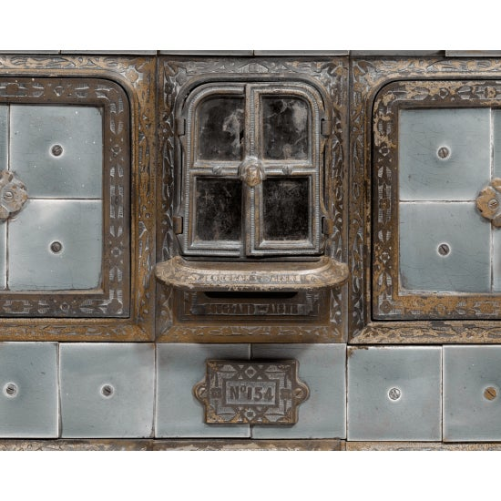 SOUGLAND-AISNE STORED HEAT COOK STOVE For Sale In New Orleans - Image 6 of 8