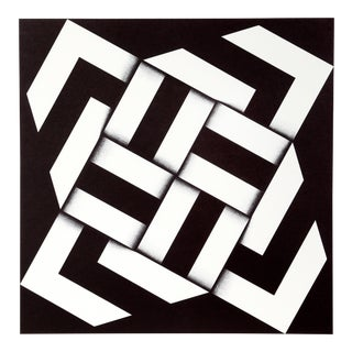 Geometric Abstract Serigraph by Omar Rayo