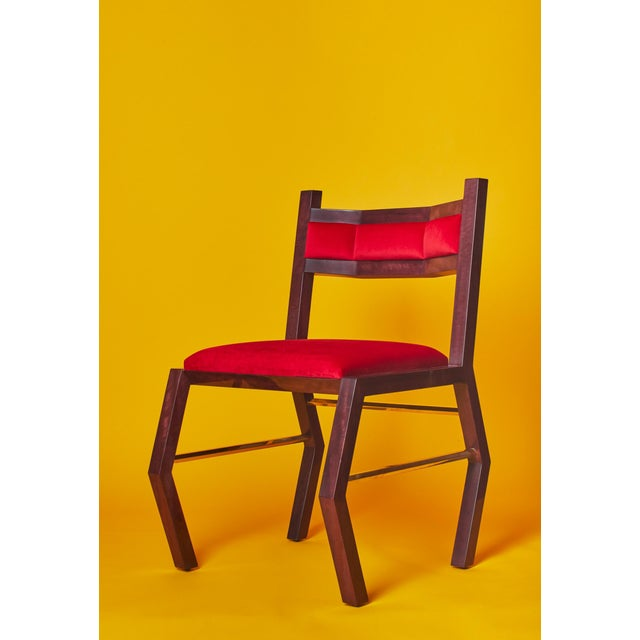 Hex Chair by Artist Troy Smith - Contemporary Design - Artist Proof - Custom Furniture Hand Made / Limited Edition / With...