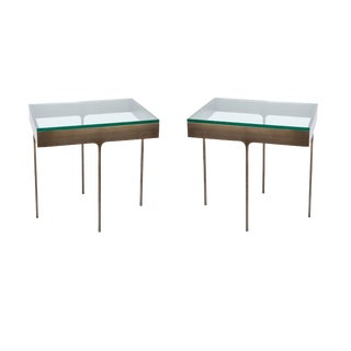 Pair of Haworth Rectangular Tables For Sale