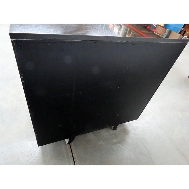 Paint 20th Century Art Deco Style Slate Top Commode For Sale - Image 7 of 9