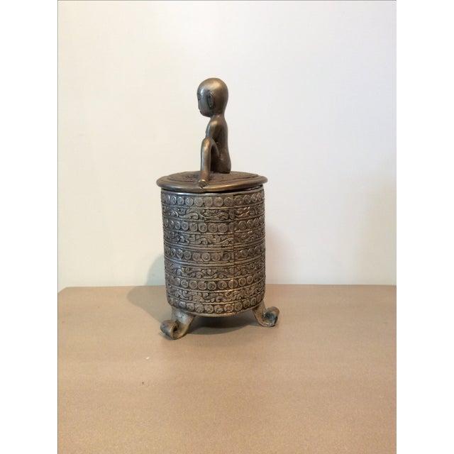 Jar with Man - Image 4 of 7