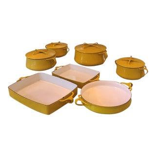 Kobenstyle Dansk Enamelware - Set of 7