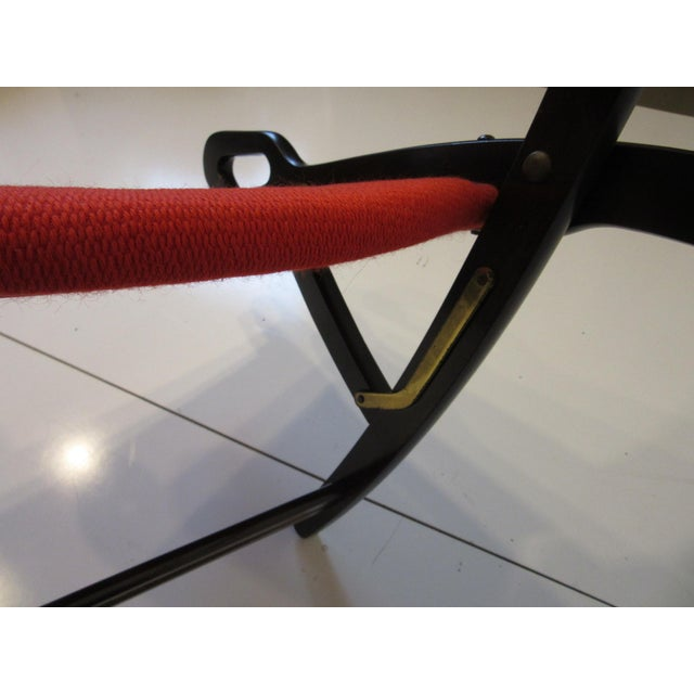 Ruby Red Gio Ponti Lounge Chairs for Fratelli Reguitti Italy For Sale - Image 8 of 13