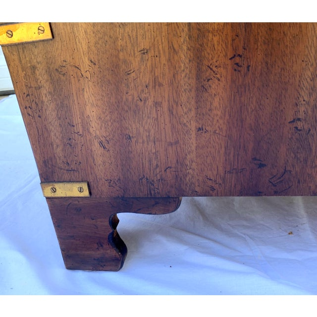 Heritage Mahogany 3 Drawer Chest Side Table For Sale In Wichita - Image 6 of 10