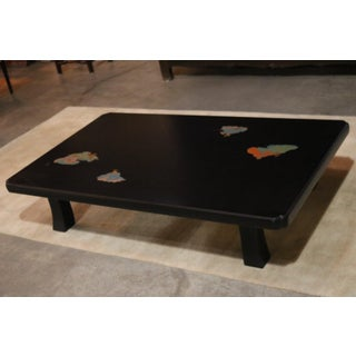 Japanese Wajima Lacquer Coffee Table Preview