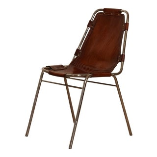 Vintage Mid Century Les Arcs' Chairs Selected by Charlotte Perriand For Sale