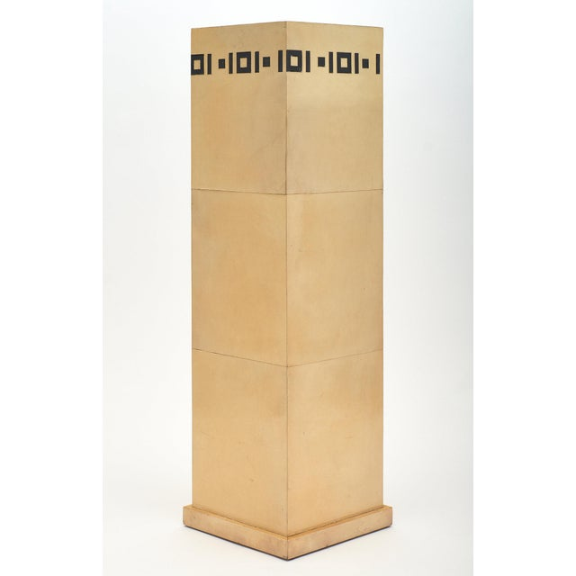 1930s Pair of French Art Deco Pedestals For Sale - Image 5 of 11